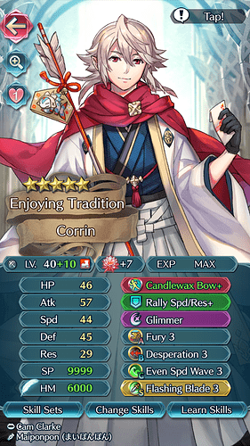 FEH Unit Builder - Corrin (M) (Happy New Year!)