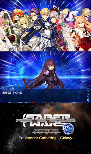 fate new na sabers 2020 wars night