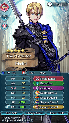 FEH Unit Builder - Dimitri