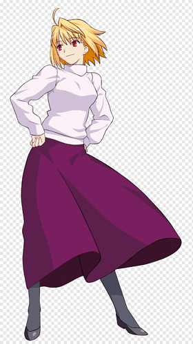 arcueid-brunestud-tsukihime-melty-blood-fate-stay-night-saber-arcueid-melty-blood-png-clip-art