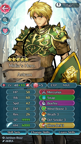 FEH Unit Builder - Astram
