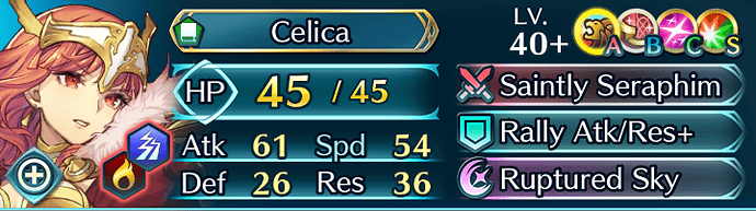 FEH Unit Builder - Celica (Legendary Heroes)