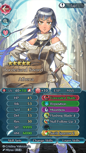 FEH Unit Builder - Athena