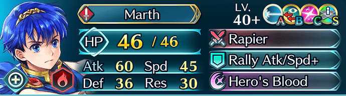 FEH Unit Builder - Marth (The Start of It All) 2