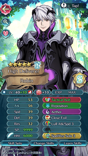 FEH Unit Builder - Robin (M)