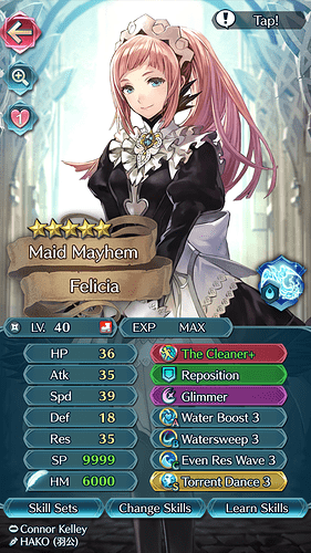 FEH Unit Builder - Felicia