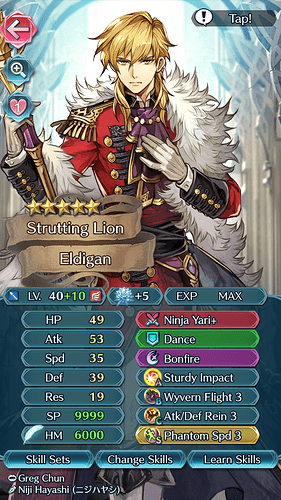 FEH Unit Builder - Eldigan (To Stay Dreaming)