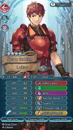 FEH Unit Builder - Lukas