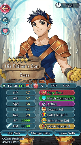 FEH Unit Builder - Ross