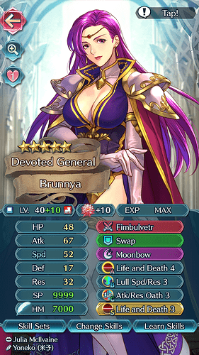 FEH Unit Builder - Brunnya