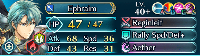 FEH Unit Builder - Ephraim (Desert Mercenaries)