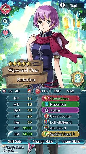 FEH Unit Builder - Katarina