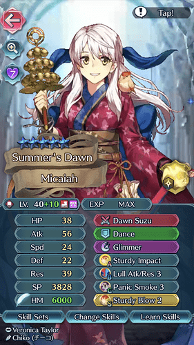 Completed Dancer Micaiah