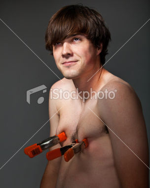 electric disgusting stock image