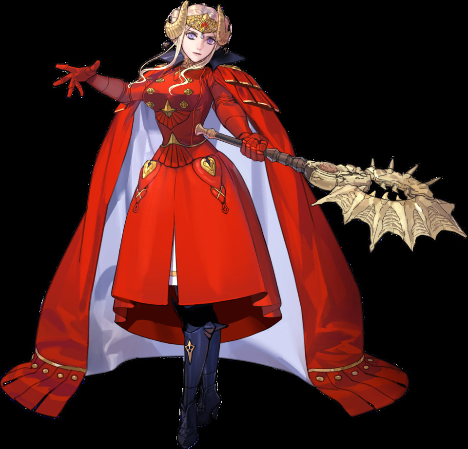 Who does 5 year gap Edelgard look like to you? - FEH Fluff