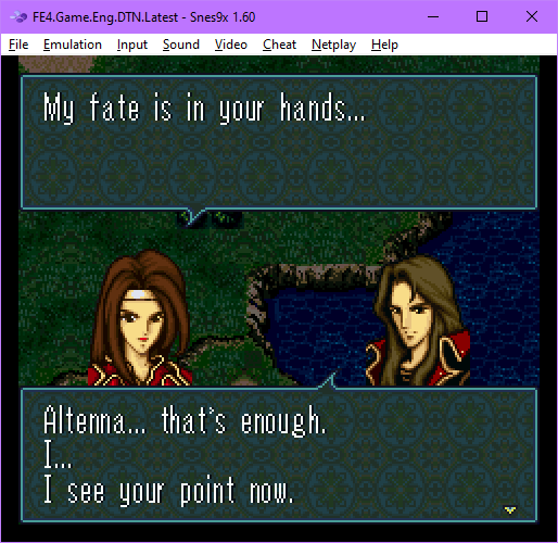 snes9x-x64,FE4.Game.Eng.DTN.Latest_-_Snes9x_1.60_2021-05-14_01-25-56-040